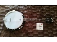 Tenor Banjo. Small Grafton 17 Fret arm with a Remo Weatherking skin Lovely Tone pleasure to play.
