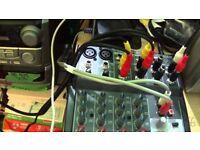 Behringer 802 Premium 8 Input 2 Bus Mixer with XENYX Mic