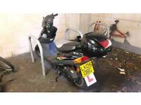 broken baotian 50cc moped