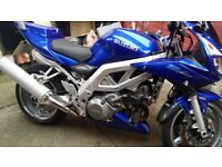 Suzuki sv1000 k3 full service history full mot vgc lots of trik bits high level rider kit 2keys +++