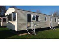 3 bedroom 8 berth pet friendly static caravan