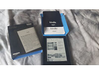 "Used only Once when received Kindle E-reader, 6"" Glare-Free Touchscreen Display, Wi-Fi (Black)"