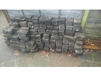 Large granite sets (blocks)