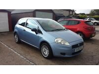 FIAT GRANDE PUNTO 2006 - 12 MONTHS MOT! GOOD CONDITION!