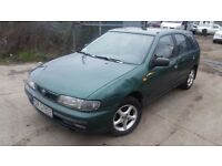 LHD Nissan Almera diesel , we have more left hand drive ---15 cheap cars on stock---