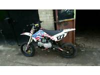 Welsh pit bike 140