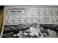 Honda vfr800 givi arms