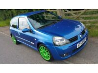 Renault clio 172 cup track car 182 valver track drag race