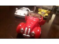 Classic car model collection
