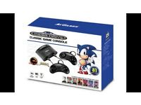 Sega Megadrive with 81 Games