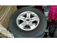 Kia sorento alloy wheels