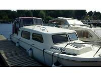 Norman 23ft River Cruiser Boat
