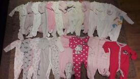 3-6months girls babygrovs