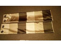 Curtains, matching lamp shades and canvas's for sale from a pet and smoke free home.
