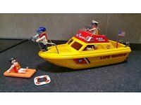 Playmobil Lifeguard Boat