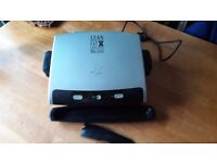 GEORGE FOREMAN 12205 FAMILY SIZE HEALTH GRILL WITH REMOVABLE PLATES - £10 - Bar Hill