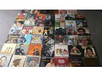 COLLECTION OF 45 Easy Listening Vinyl LP Records Albums Job lot, bundle.