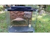 Aquarium turtle tank