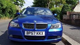 BMW 325I SE TOURING AUTO - BLUE (1st registration Dec. 2007)
