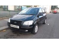 54 REG HYUNDAI GETZ 1.3 12V CDX TOP MODEL NEW MOT SUPER CHEAP TO RUN