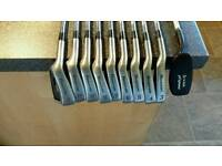 LEFT HAND Howson Allis 2000 oversize irons with Fazer chipper