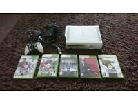 Xbox 360 console with 5x games