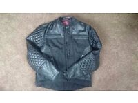 Lewis Leather Motor Bike Jacket