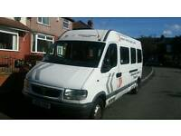 Minibus for sale full mot drive smooth 995