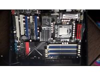 RAMPAGE II EXTREME SOCKET 1366 MOTHERBOARD, Come with X5650, 8GB Ram ONO