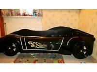 black ferrari car bed for kids