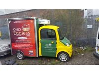 Aixam MegaVan - Fridge Van / Billboard Van / Advert Truck / Snacks Van / Sandwich Van / CateringVan