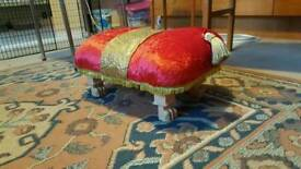 Disney inspired beauty and the beast foot stool