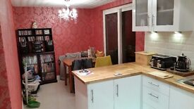 double room for rent. in very smart house. suit female or professional