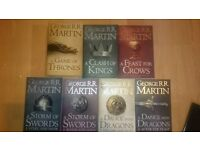 Game of thrones box set of 7 books