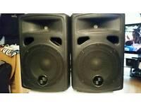 2 400w speakers