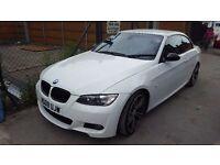 BMW 2008 CONVERTIBLE 330i MSPORT E93 HIGH SPEC (not audi,mercedes,vw,vauxhall,m3,convertible)