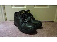Sitesafe Footwear Steel Toe Boot Size 8 UK