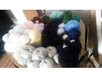 Job lot of wool
