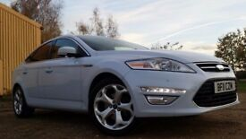 Ford Mondeo 2.0 TDCi Titanium X 5dr£4,000 p/x welcome *PEARLEASCEANT WHITE*LOTS OF EXTRAS*