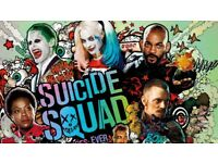 Sony DVD, CD player +new movie suicide squad free