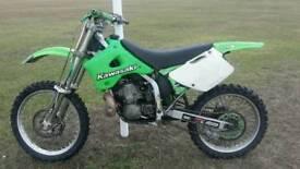 Kawasaki kx 250 KX250 2-stroke not 125cc cr yz rm ktm