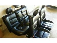 Vectra B heated leather seats