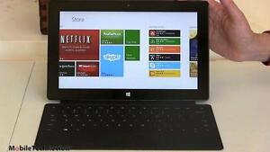 USED MICROSOFT SURFACE TABLET  WITH KEYBOARD 32GB