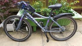 "Carrera Parva Women Hybrid Bike 16 "" in excellent condition is up for sale"