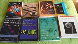 Biology/Ecology/Biochemistry Degree Text books for Sale in Cardiff - Very Good Condition