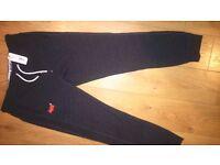 SUPERDRY Men's Orange Label Slim Warm Joggers Dark Smoke Grit (DARK Grey) XL