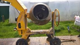 Cement Mixer Diesel Yanmar Engine Electric Start Good Condition