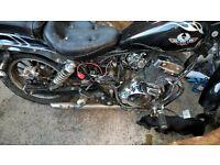 125 motorbike spares/repairs