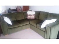 sage geen corner sofa