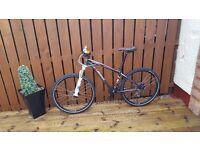 Specialized hardrock comp plus upgrades mountain bike